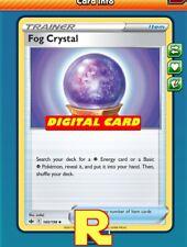 Fog Crystal - Pokemon TCG Online (DIGITAL ptcgo in Game Card)