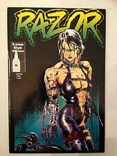 Razor #2 James O'Barr cover First Printing Everette Hartsoe London Night crow