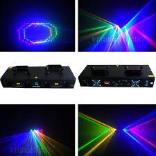 4 Lentille 800 mW RGYB DMX Laser Light Disco DJ Stage Party Lighting