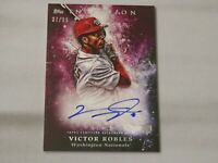 2018 Topps - Inception - Rookie Autograph - Victor Robles 37/99 - Card # RES-VR