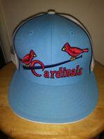 St. Louis Cardinals Hat Classic Cooperstown Men's Cap 7 3/4 USA Mitchell & Ness