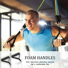 17Pcs Resistance Bands Elastic Rope Training & Physical Therapy Gym Fitness Set