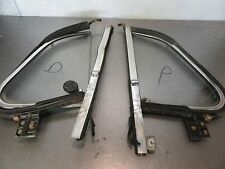 69 VW Beetle Bug  Left, Right Vent Windows Complete for Parts Only, Glass, Frame