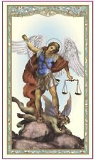 Saint Michael Prayer Holy Card