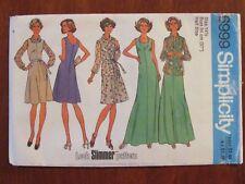 SIMPLICITY PATTERN - 6999 LADIES DRESS or JUMPER SHIRT-JACKET SIZE 14 UNCUT