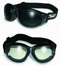 2 Goggles Motorcycle Riding Super Dark And Clear Glasses Sunglasses Burning Man