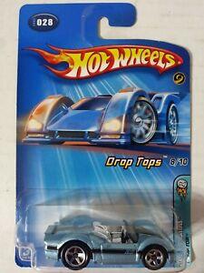 """HOT WHEELS 2005 """"DROP TOP"""" FIRST EDITION Metallic Light Blue #028  HW1"""