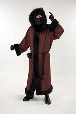Knecht Ruprecht Kostüm mit Kapuze | Mantel | Kordel
