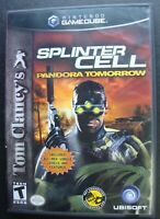 TOM CLANCY'S SPLINTER CELL NINTENDO GAMECUBE GAME NGC