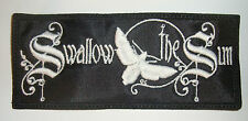 SWALLOW THE SUN - LOGO Embroidered PATCH Draconian Ghost Brigade My Dying Bride