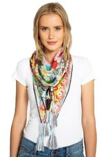 Johnny Was Floral Edge Scarf - C97918