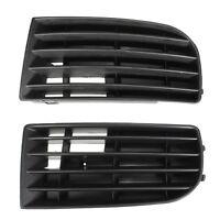 1 Pair Front Bumper Lower Grille Corne Side For Volkswagen VW Golf Mk5 2003-2009