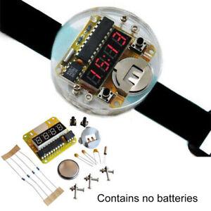 1x Bausatz LED Alarm Quartz Digital Uhr Clock Kit DIY Tool