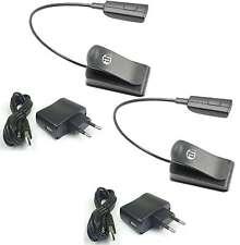 2x LED Minilight Schwanenhalslampe Leselampe Klemmlampe USB Netzteil Flexilight