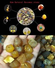 1Pcs The Baltic Natural Amber Beeswax Raw Stone For Bead Pendant Decor Rock