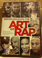 Something from Nothing: The Art of Rap - NEW DVD-Snoop Dogg, Dr Dre, Kanye West