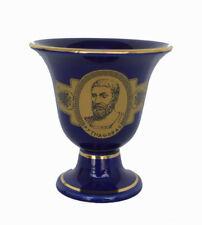 Pythagoras cup Pythagorean cup of justice blue
