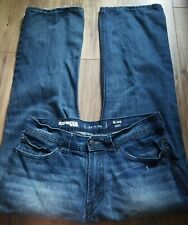 Express Jeans Blake Boot Cut Men's 34x30 Great Condition Slightly Distressed