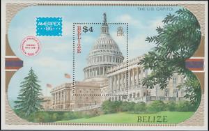 British Honduras - Belize - 1986 - Sc 822 - Ameripex 86 Chicago Stamp Exhibition