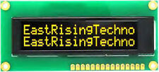 Yellow Serial SPI I2C 16x2 Character OLED Display Arduino etc ships from USA