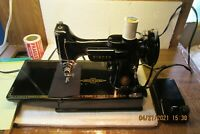 Gently Pre-Owned Singer 221 Featherweight Sewing Machine 1957   AM671092