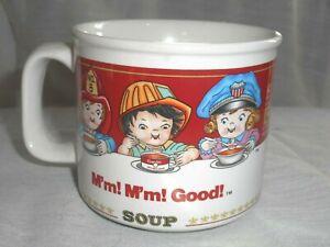 Campbell Soup Career Kids Microwavable Soup Coffee Mug West Wood 14 oz 1993