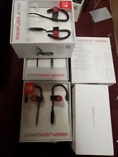 Apple Beats by Dr. Dre Powerbeats 3 Wireless Ear-Hook Wireless Headphones Red