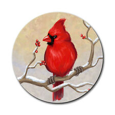 Cardinal in Winter Mouse Pad