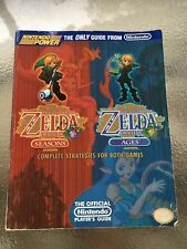 Legend of Zelda Oracle of Seasons & Ages Nintendo Power Player's Strategy Guide