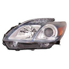 2012 2013 TOYOTA PRIUS HEADLIGHT HEADLAMP LIGHT LAMP PLUG-IN LEFT DRIVER SIDE