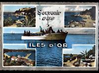 ILES D'OR (83) BATEAU NAVETTE pour ILE du LEVANT / PORT CROS / PORQUEROLLES