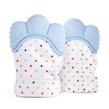 Munch Baby Mitt Teething Glove Candy Wrapper Sound Stay baby hands Teeth of Blue