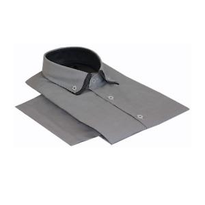 Men's Double Collar Long Sleeve Casual Wear Shirt Size L-4XL