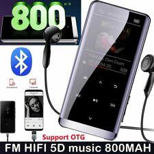 16GB MP3 Player Bluetooth HiFi Bass Musik Spieler 1,5'' LCD Display FM Radio