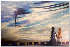 "Sword Art Online Kirito & Asuna Japan Animation Silk Poster 24x36"" SAO 011"