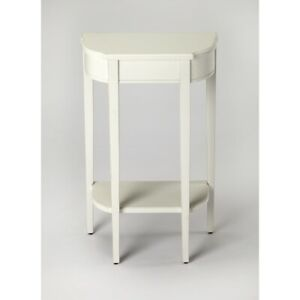 Butler Wendell Cottage White Console Table, White - 3009222