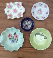 Vintage Trinket/Ring Dishes X5. Ceramic/China