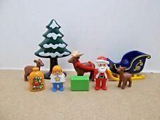 123 PLAYMOBIL / Le Père Noël avec Angelot et le Traîneau - Réf 6787