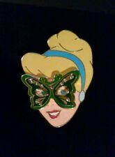 Disney Shopping MOC 2007 Masquerade Princess Cinderella Mardi Gras LE 250 Pin