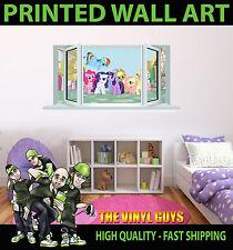 Children's My Little Pony Girls Boys Wall Decals & Stickers