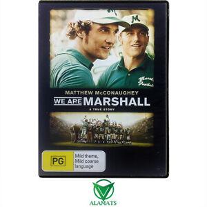 We Are Marshall Matthew Mcconaughey DVD [M]