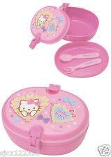 **Last One** Sanrio Hello Kitty Lunch Container with Fork and Spoon