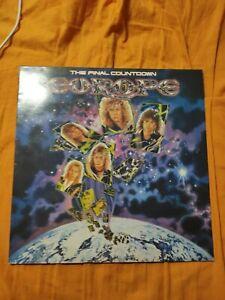 "EUROPE-THE FINAL COUNTDOWN-RARE LP 33 GIRI 12""-1986"