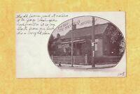 NJ Jersey City 1901-08 udb antique postcard TICE TAVERN New Jersey