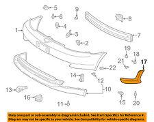 TOYOTA OEM 00-02 Echo-Spoiler Kit-Front Spoiler Right 7685152010