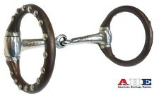 O-Ring Pony Snaffle Show Bit Antique Brown by American Heritage New Free Ship