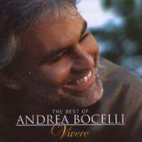 "ANDREA BOCELLI ""THE BEST OF - VIVERE"" CD NEW+"