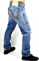 True Religion $349 Men's Geno Relaxed Slim Super T Jeans - 100372