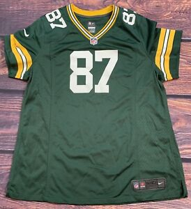 Nike On Field Green Bay Packers Jordy Nelson NFL Jersey Women's SZ 2XL Green