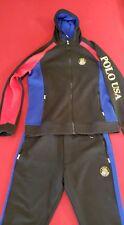 Polo Ralph Lauren 92 Downhill Suicide SKI sweatsuit Hoodie BLACK NWT XL hi tech